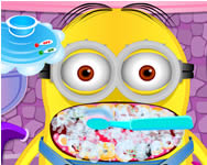 Minion at the dentist Minions online spiele