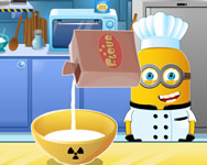 Minion banana cake cooking spiele online