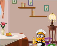 Minions clean room Minions online spiele