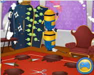 Minions house makeover spiele online